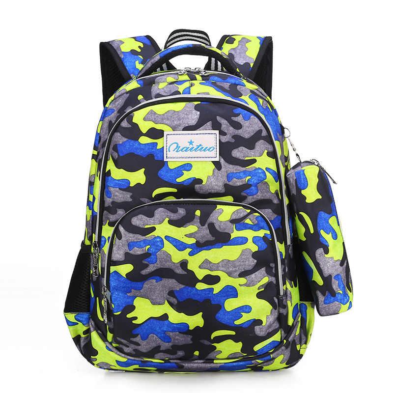 Impermeable de los niños de la Escuela para niñas niños mochilas para niños mochila mochilas Escuela Primaria mochila escolar