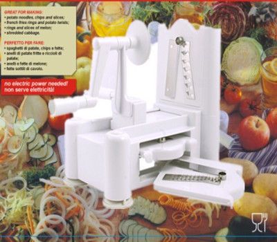 US $35.9 |1 Set spiralizer kitchen tool Fruit Garnish Cutter Peeler Spiral  Fruits Vegetable Curly Slicer Kitchen Tools-in Graters from Home & Garden  ...
