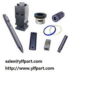 US $100 0 |Soosan hydraulic rock breaker SB40,SB50,SB81,SB100,SB121,SB130  chisel,seal kits,piston,cylinder,front head, back head,diaphragm-in