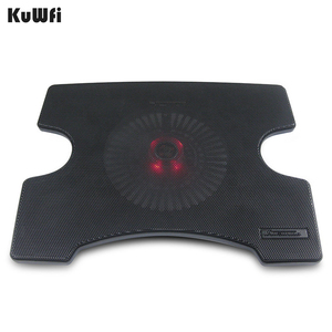 Image 2 - Laptop Cooler Cooling Pad Cooling X Stand for Laptops Notebook PC 14 Inch And Below With 2 USB 2.0 Port Silent Single Fan