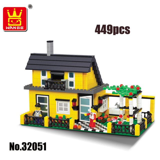 Street Creation Architecture City Inn Village House Famity Home Figures Car Building Blocks Brick compatible with legoingly