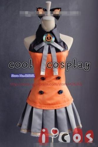 Vocaloid 3 Hatsune Miku Cosplay Kostüm SEEU Komplettes Zubehör - Kostüme