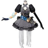 SINoALICE Алиса Готическая Лолита униформа для косплея с аксессуарами