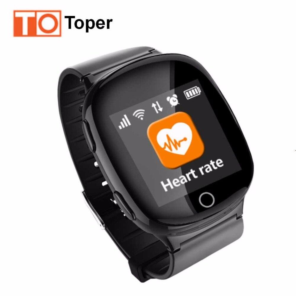 imágenes para Gps tracker ancianos niños smart watch pulsera localizador libras gsm monitor de ritmo cardíaco reloj smartwatch locator sos seguridad alarma caída