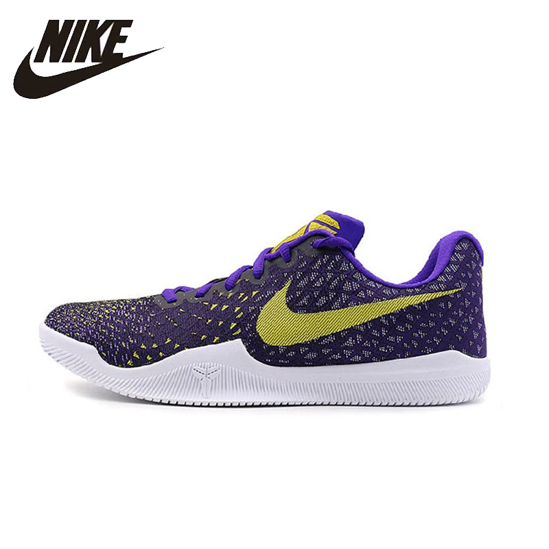 NIKE Kobe Mentality Original Mens Basketball Shoes Height Increasing Stability Comfortable Sneakers For Men Shoes#884445 nike рюкзак kobe mamba xi backpack