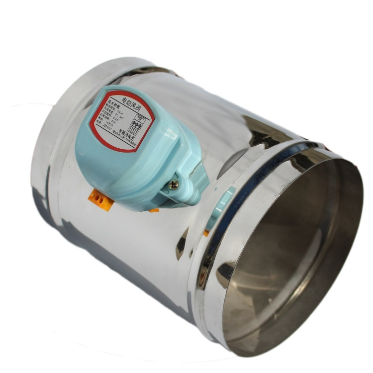 Home Appliances Actuator For Air Damper Valve 220v Electric Air Duct Motorized Damper For Ventilation Pipe Valve