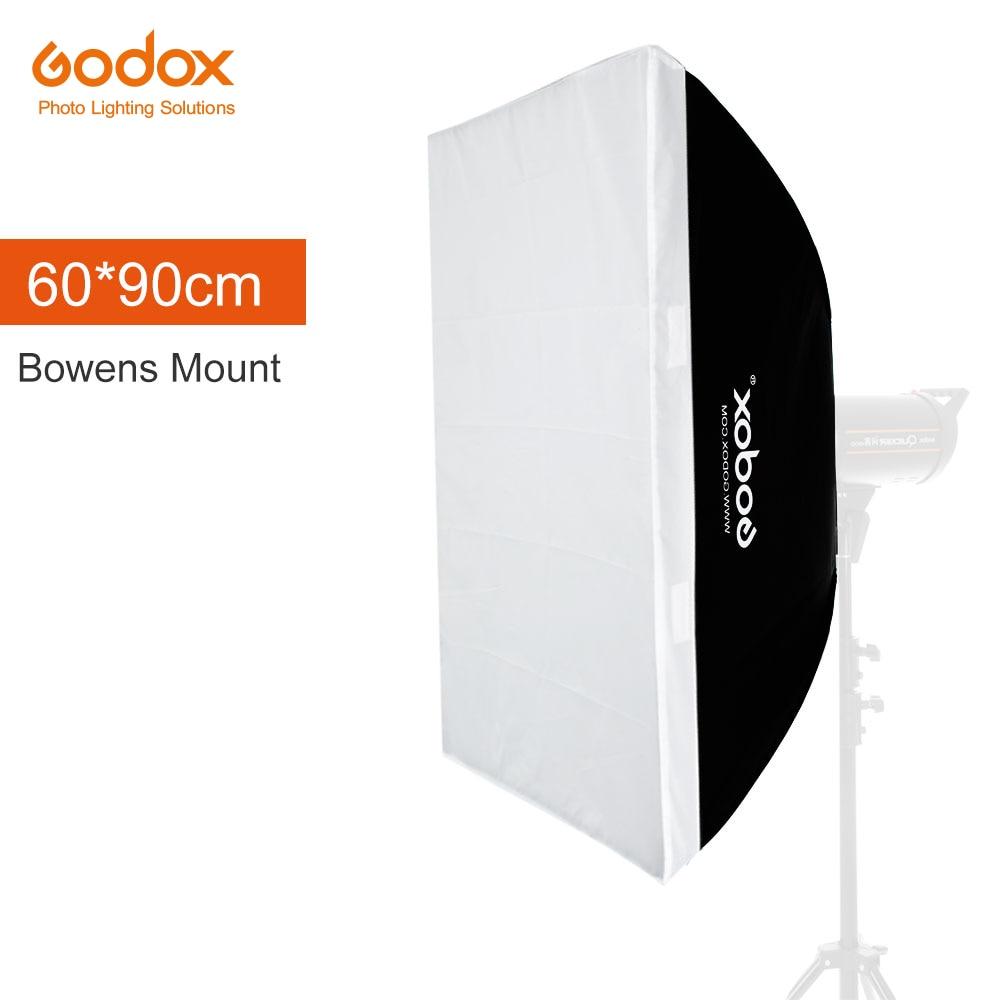 """Godox 24 """"× 35"""" 60 センチメートル * 90 センチメートルスピードライトスタジオストロボフラッシュフォト反射用 bowens マウント DE300 DE400 SK300  グループ上の 家電製品 からの ソフトボックス の中 1"""