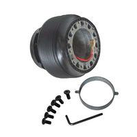 New Racing 15mm Steering Wheel Boss Kit Hub Adapter FOR HONDA CIVIC 88 91 CRX EF