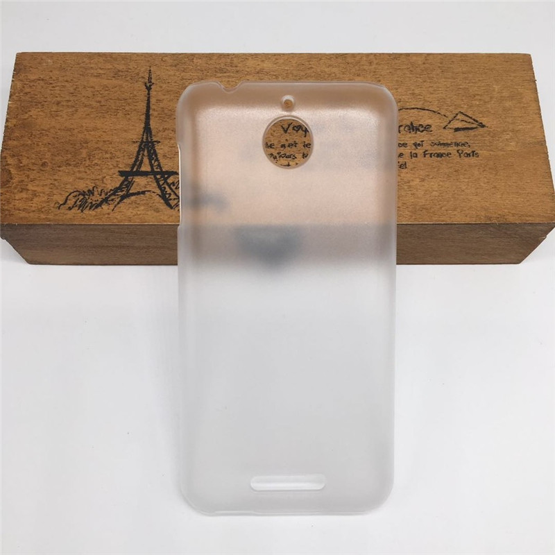 Hard Matte Clear <font><b>Cover</b></font> For <font><b>HTC</b></font> <font><b>Desire</b></font> <font><b>510</b></font> A11 Frosted Shield Phone Back Half <font><b>Cover</b></font> Case Bag Fuda Capa High Quality image