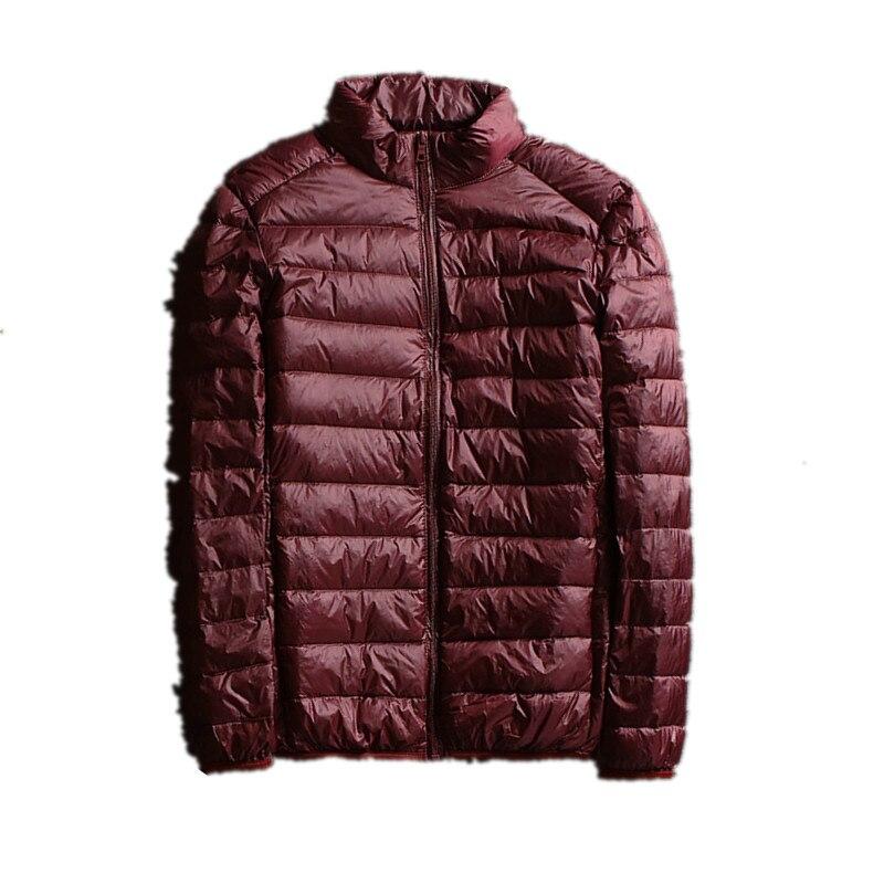 2018 Winter men Ultralight Jacket White Duck   Down   Jacket Men   Down   Jackets Outdoors Male Casual   down   jacket   Coat