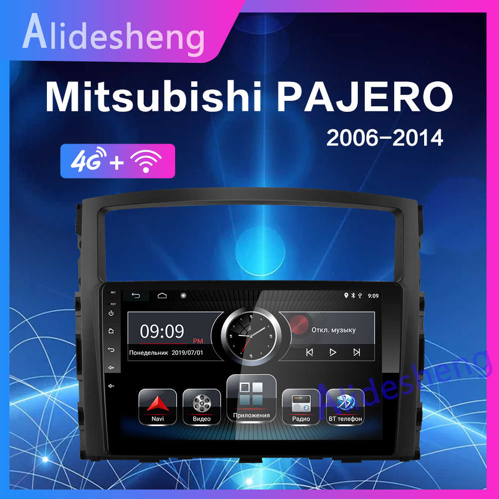 4G Android 8.1 Car Multimedia Player For MITSUBISHI PAJERO  V97 2006 2007 2008 2009 2010 2011 2din Stereo radio GPS Navigation