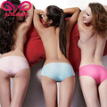 GIRLADY Ultra Thin Traceless Briefs Women Seamless Invisible Style Colorful Underwear Panties Comfortable Touch Ladies Lingerie