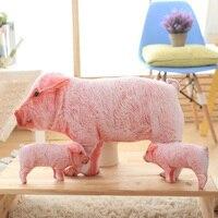 Đồ chơi sang trọng Dễ Thương Thú Nhồi Bông Heo Màu Hồng Thú Nhồi Bông Gối Bé Kids Đồ Chơi cho Girls Sinh Nhật Món Quà Giáng Sinh Xoa Dịu Lợn Con Búp Bê