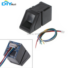 DIYmall R307 Optical Fingerprint Reader Sensor Module Time Attendance Scanner Identification Reader Module 10 pcs brand new usb fingerprint reader scanner sensor zk4500 for computer pc home