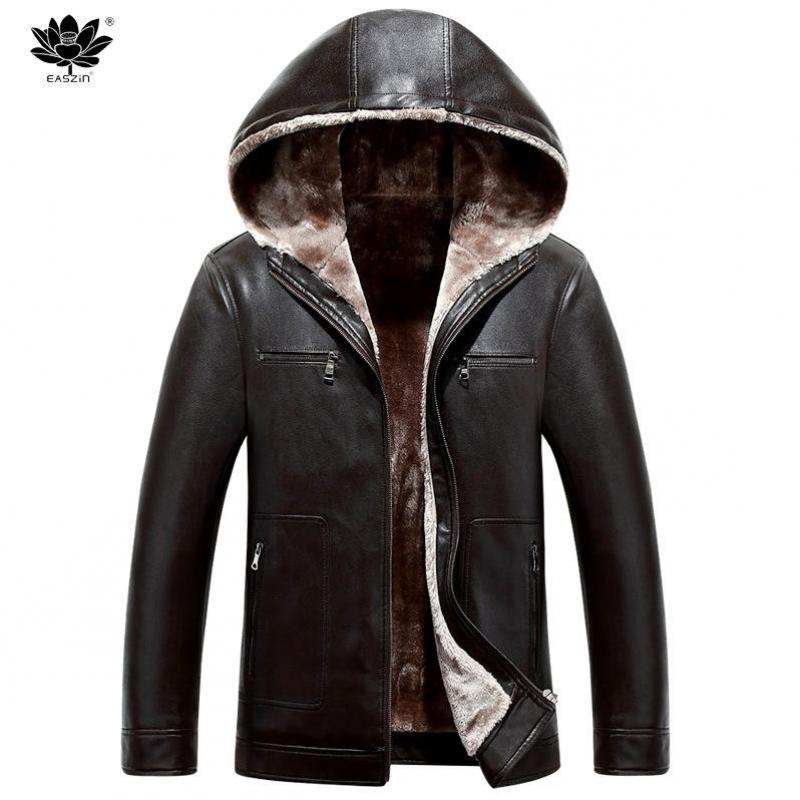 Leather Jacket Fur Hood Promotion-Shop for Promotional Leather