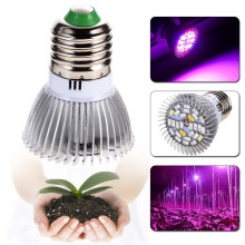 28W Full Spectrum E27 Led Grow Light Growing Lamp Light Bulb For Flower Plant fruits led lights Grow Lamp for Greenhouse