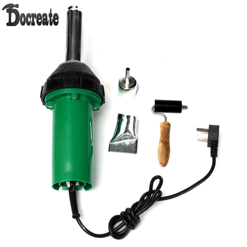 1000W 220V Plastic Welder Integrated Hot Air Gun Welding Plastic Rod heat Gun цены
