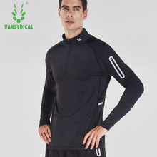 Men Running Shirt Compression Sports TShirt Fitness Crossfit T-Shirt Long Sleeve GYM Tops