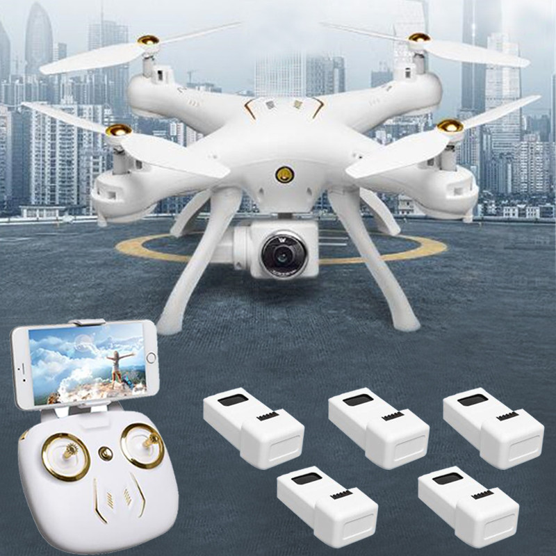 Attop W9 GPS RC Drone With 2.4G 720P/5G 1080P HD Camera Wifi FPV Follow Me Surround Mode Altitude Hold RC Quadcopter Toys