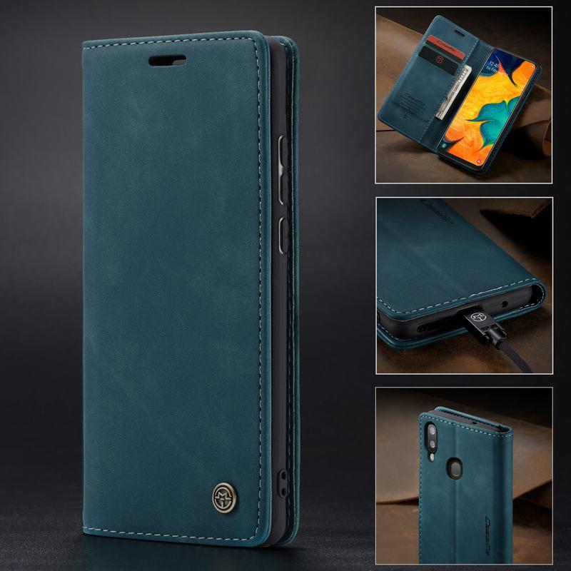 Купить Кожаный флип-чехол для samsung Galaxy A40, чехол для телефона, чехол для samsung A40s A 40, кошелек, дизайн, ультра люкс, короткая защита для смартфона на Алиэкспресс