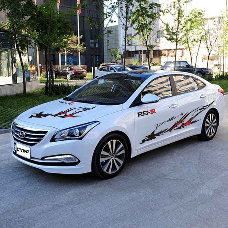 Autocollants de voiture modèle totem Phoenix personnalisés pour Hyundai Sonata VERNA ix35 ELANTRA ELANTRA