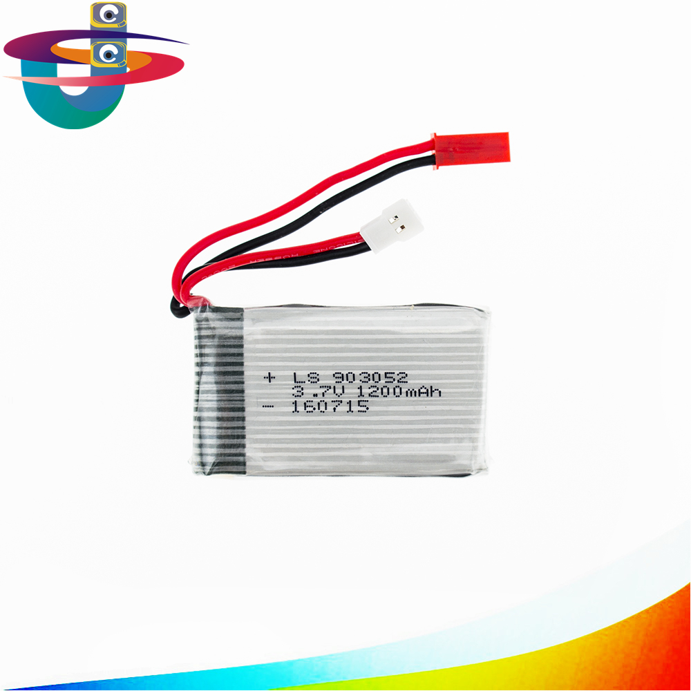 Syma rc lipo battery 3.7v 1200mah for syma X5SW X5SC M18 H5P Helicopter drone part