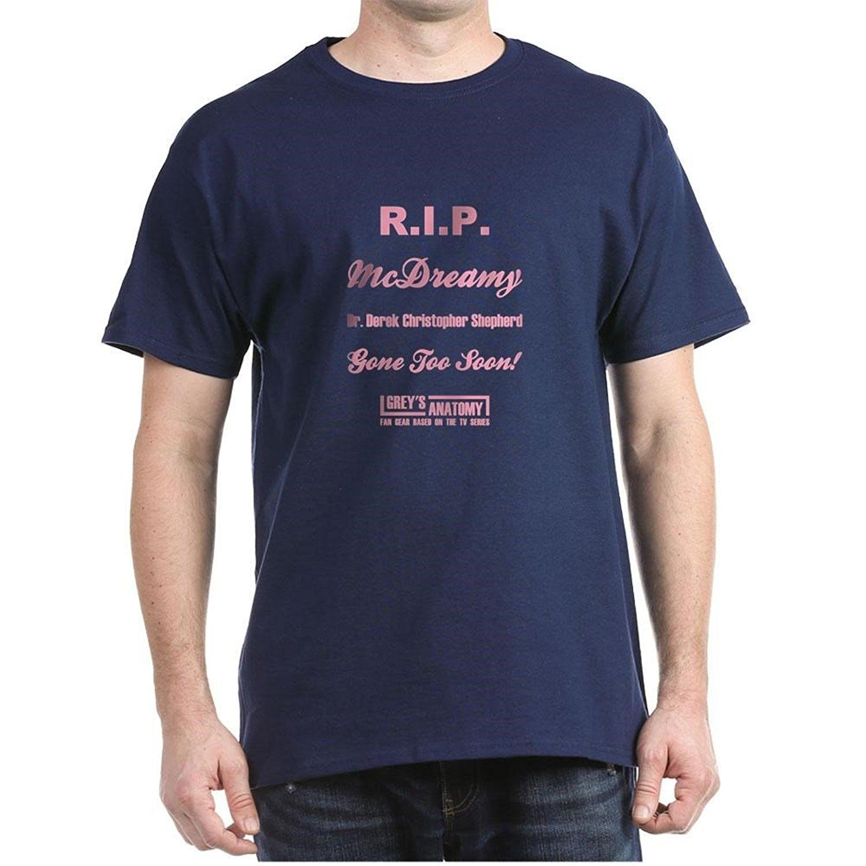 R.I.P. McDREAMY - 100% Cotton T-Shirt T Shirts Short Sleeve Leisure Fashion Summer Cotton Shirts Cheap Wholesale T-Shirt