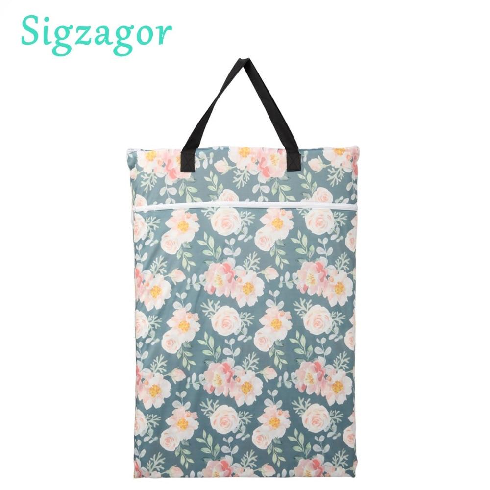 HTB1A.d6KeSSBuNjy0Flq6zBpVXaw [Sigzagor] 1 Small Mini Wet Bag Reusable for Mama Cloth Sanitary Menstrual Maternity Pad,Tampon,Cup Bib,Buyer PICK,35 Designs