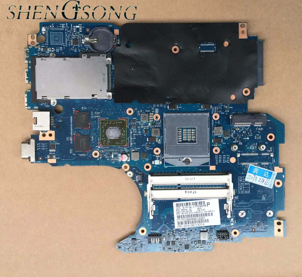 Free Shipping Mainboard for 4530S 4730S Non-Integrated Series 658343-001 Laptop Motherboard 100% fully tested free shipping l755 hm75 ddr3 non integrated laptop motherboard for toshiba h000034860 mainboard fully tested and working perfect