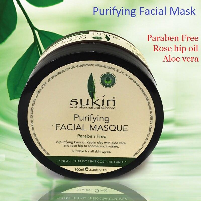 100%Australia Effective Natural Purifying Facial Mask Paraben Free Sleeping Mask Rose Hip Oil Cream Aloe Vera Dry SkinCare cream маска matis clay mask balancing and purifying mask объем 50 мл