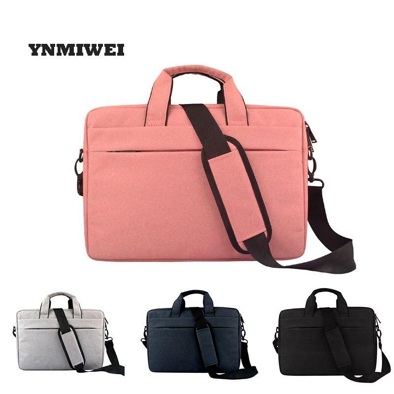 For Macbook Air 13 Case Pro 15 Bag Daily Waterproof Polyester Laptop Briefcase Handbag Notebook Bag