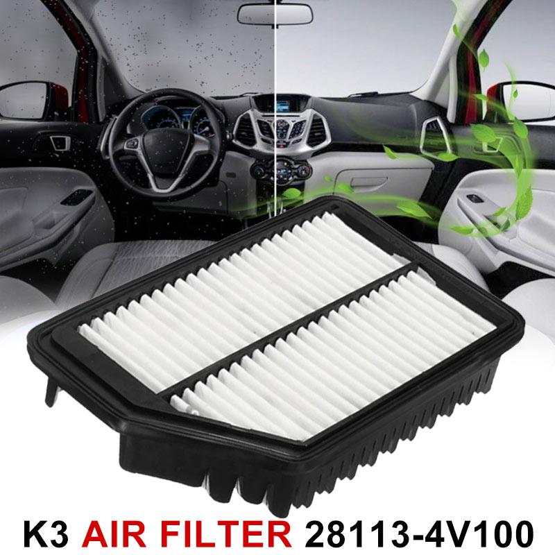 28113-4V100 автомобильный воздушный фильтр двигателя Воздушный фильтр для двигателя Высокое качество подходит для нескольких моделей воздушных фильтров 28113-3X000 Замена