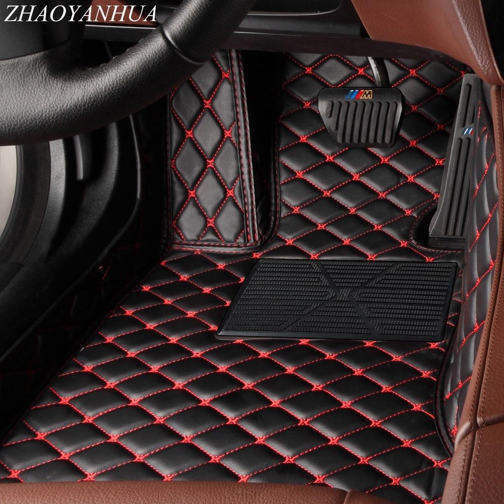 ZHAOYANHUA tappetini auto per Kia Sportage Optima K5 Sorento Carens 5D caso della copertura completa auto-styling di alta qualità tappeto fodere