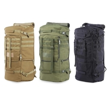 Waterproof Oxford Backpack Mountaineering Tactical Backpacks Outdoor Men Women Military Tactical Bag for ClimbingCamping Hiking