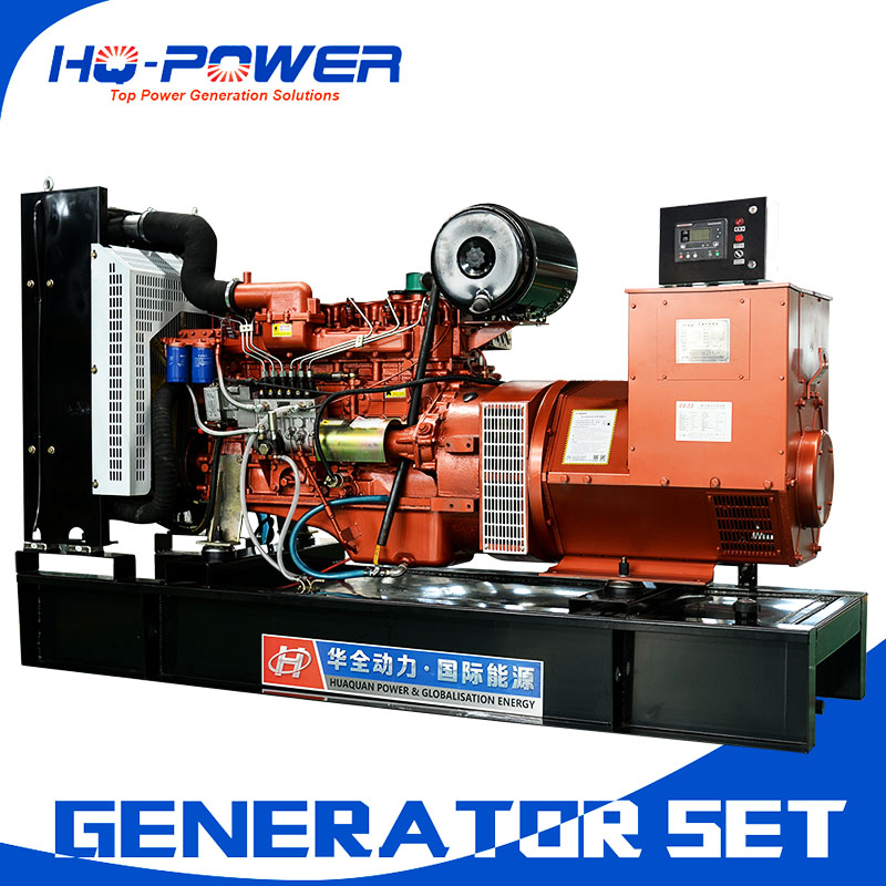 backup generator 150kw electric power brushless self excited excitation type genset