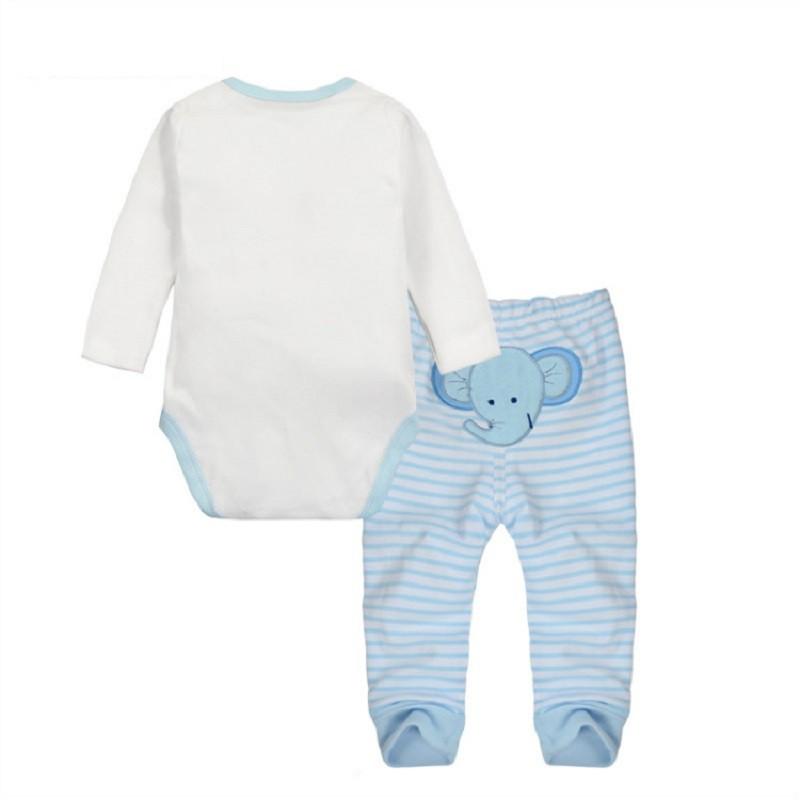 blue elephant back