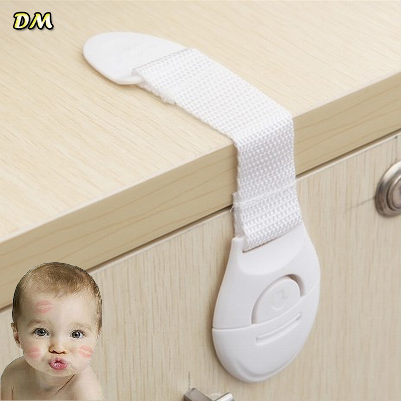 Via Fedex/DHL, 3M Sticker Baby Safety Lock Multipurpose Cabinet Lock Children Kids Drawer Lock Toilet Lock 1500pcs