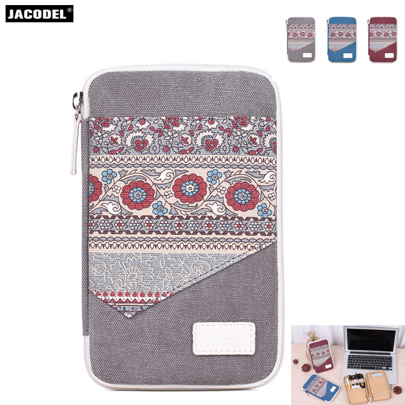 Jacodel Waterproof Mobile Phone Bag Multifunction Computer accessories for macbook air pro accessories Hard Drive Disk Mouse bag