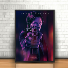 John Wick Chapter 2 Movie Poster Canvas Painting Print Living Room Home Decor Modern Wall Art Oil Salon Picture Artwork