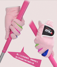 Microfiber fabric Soft Breathable skidproof Magic Golf Gloves Sport Glove for Children