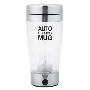 Self Stirring Mug Automatic Electric Lazy Automatic Coffee Milk Mixing Tea Mix Cup Travel Mug Double Insulated thermal Cup