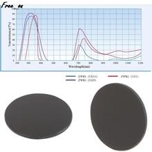 ZWB2 Ultraviolet UV Band Pass Filter Flashlight Diameter 26mm Thickness 1.5mm