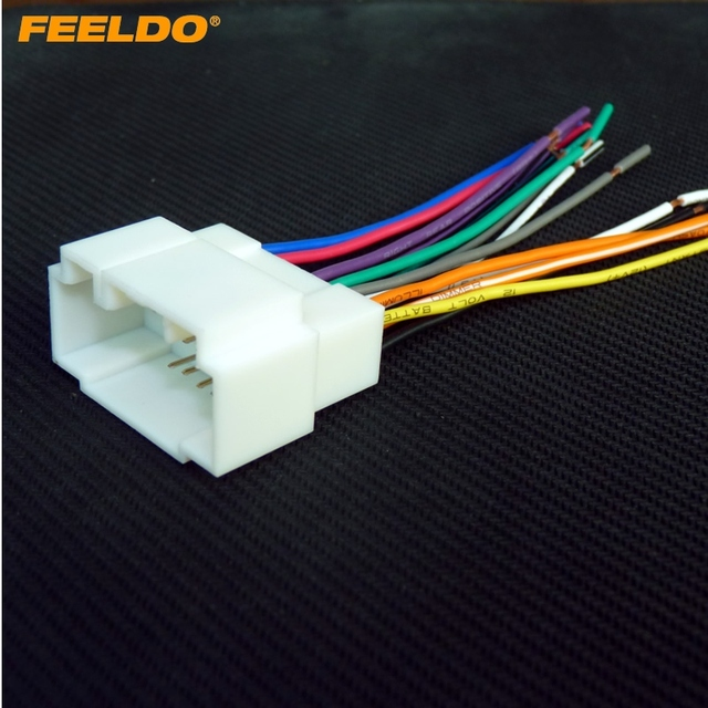 FEELDO Car Audio Stereo Wiring Harness For HONDA ACURA ACCORD CIVIC CRV Install Aftermarket Stereo FD_640x640 aliexpress com buy feeldo car audio stereo wiring harness for aftermarket radio wiring harness at bakdesigns.co