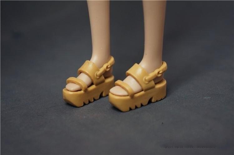 b3be05fb9 الجملة أحدث الأصلي 1 زوج دمية الأزياء والأحذية لطيف الأحذية ل دمية باربي  أحذية 1/6