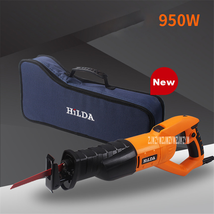 New Multi-functional Woodworking Saws Metal Cutting Machine Household Adjustable Speed Reciprocating Saw JD3513C 220v/50HZ 950W new multi functional woodworking slotting machine puzzle machine open tenon board machine 220v 50hz 760w 11600rpm 0 90 degrees