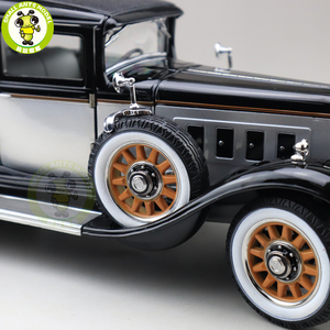 Image 5 - 1/18 auto mundo 1931 mestre peerless 8 sedan diecast modelo de carro brinquedos meninos meninas presente