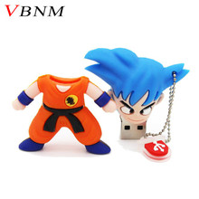 VBNM pen drive Dragon Ball Goku gift usb flash drive pendrive 4gb 8gb 16gb 32gb