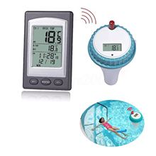 Fish Tank Pond Aquarium Thermometer Wireless Digital Floating Thermometer Swimming Pool and Spa Water Temperature Thermometer