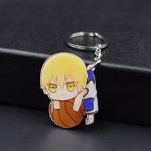 Kuroko's Basketball Keychain 14 Styles Kise Ryota Key Chains Pendant Hot Sale Custom made Anime Key Ring FQ1