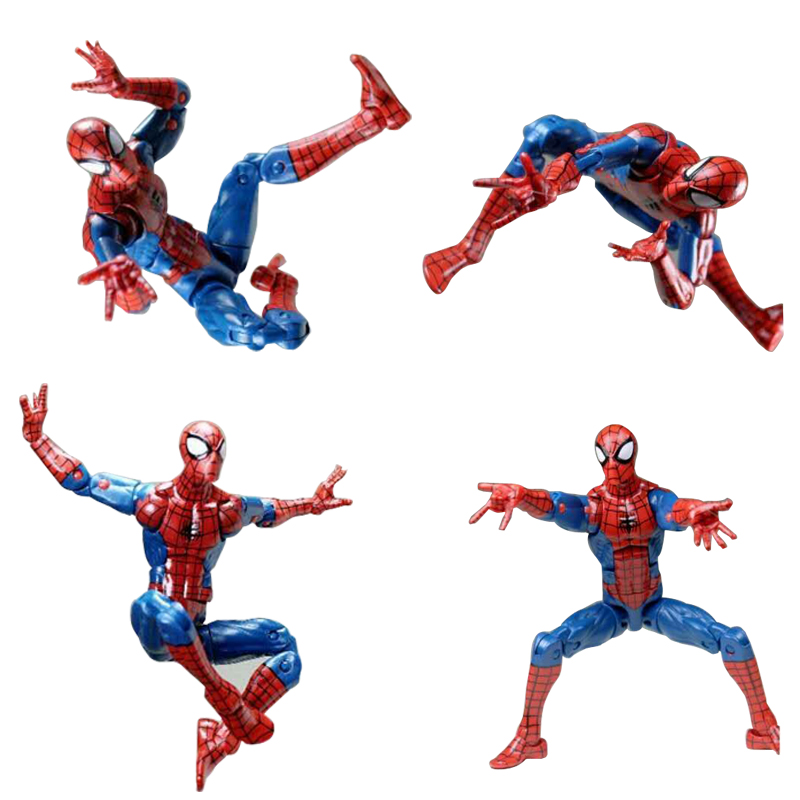 Marvel Legend Pizza Spiderman Infinite Series Toy Spider Man Super Hero Action Figure Model Toys for Christmas Children Gift